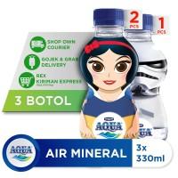 AQUA Air Mineral Kids Starwars & Princess 330ml (3 botol)