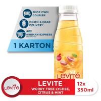Levite Minuman Berasa MONTIMIN: Lemon, Timun & Mint 350ml (12 botol) P