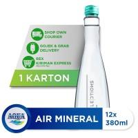AQUA Sparkling Water 380ml (12 botol)