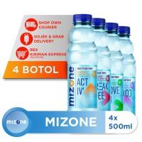 Mizone Isotonik Bernutrisi Mix Variants 500ml (4 botol) [P]