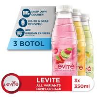 Levite Minuman Berasa Mix Variants 350ml (3 botol) [P]