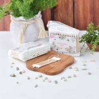 Wooden Cotton Buds ( Korek Kuping Kayu ) 1 Pack
