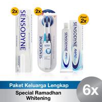 Paket Keluarga Lengkap Sensodyne Spesial Ramadhan - Whitening