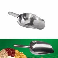 sendok es batu sekop es batu silver polish2