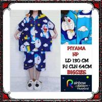 Piyama dewasa HP celana pendek baju pendek, katun jepang, BIG SIZE,