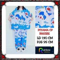 Piyama dewasa CP BIGSIZE,celana panjang baju pendek,katun jepang, FIT