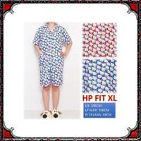 Piyama dewasa HP FIT XL, katun jepang, motif HELLO KITTY KECIL