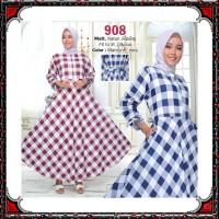 Gamis Syari KATUN PREMIUM busana muslim wanita pakaian murah PART 1