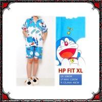 Piyama HOTPANTS / celana pendek Dewasa motif DORAEMON HP 020