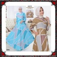 Gamis Syari KATUN PREMIUM busana muslim wanita pakaian murah PART 2