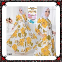 Gamis Syari KATUN PREMIUM busana muslim wanita pakaian murah PART 3