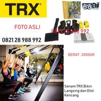 Tali TRX suspension Body Trainer, Olahraga rumah, tali fitness, gym