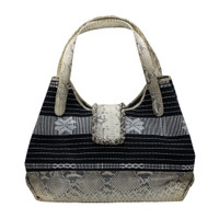 Galeri Soka Tas Sacthel Bag Wanita Croco - Hitam