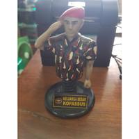 Miniatur / Pajangan Dashboard Per Keluarga Besar Kopassus/Marinir/TNI