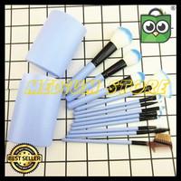 Terlaris Make Up Brush 12 Set In Tube/ Kuas Rias Make Up 12 Set -