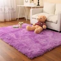 karpet tikar bulu korea tebal sofa anti slip lembut murah