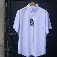 EASTLORE Oxford White Shirt BIGSIZE - Kemeja Putih Pria JUMBO SIZE