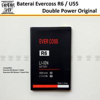 Baterai Evercoss U55 Winner Y Smart Plus Double Power Original Cross