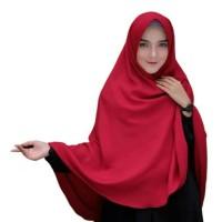 Hijab Instan Khimar Jilbab Syarii Bergo A Instant Kerudung MURAH