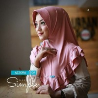 Hijab Instan Khimar Azzora 07 Jilbab Instant Kerudung MURAH