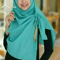 Hijab Instan Pashmina Ped Tazzel Jilbab Instant Kerudung MURAH