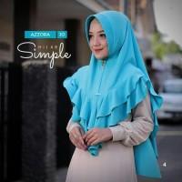 Hijab Instan Khimar Azzora 10 A Jilbab Instant Kerudung MURAH