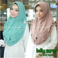 Hijab Instan Khimar Billy Scraft Mia Jilbab Instant Kerudung MURAH