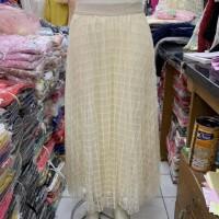Rok Tutu Panjang Import / Tutu Skirt Import Motif Kotak 3 Lapis/Layer
