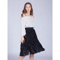 J.Rep Fringy Skirt