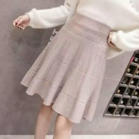 DSPC - Import! A Line Knitted Skirt - rok rajut import