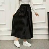 DSPC - Rok Velvet Bludru Panjang - maxi skirt import