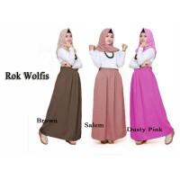 Ciara Collection ROK WOLFIS panjang tebal fit to XL