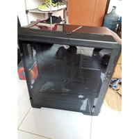 Gaming Case Cube Bedver Tempered Glass