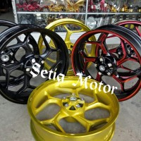 Velg Racing Tapak Lebar 300 x 450 Ring 17 Model Axio - Delkevic Motor