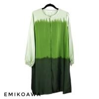 Outer Panjang GreenGradasi - Emikoawa / Cardigan / Souvenir