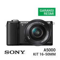 Sony A5000 Kit 16-50mm Hitam