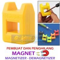 Pembuat dan Penghilang Daya Magnet Magnetizer Demagnetizer Obeng Tools