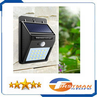 Lampu Taman 20 LED Solar Sensor Gerak Tenaga Surya / SOLAR POWERED LED
