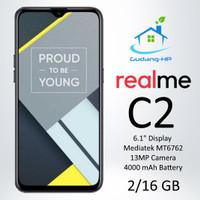 Realme C2 2/16 GB Garansi Resmi 1 Tahun