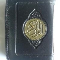 Al-Quran Impor Ukuran Saku Kecil 5x7 Resleting