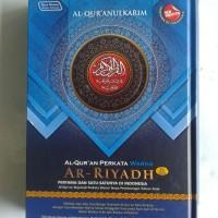 Al-Quran Terjemah Perkata Warna Ar-Riyadh Ukuran A5