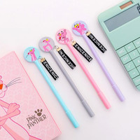 pen gel pink panther cartoon gel ballpoint spe058