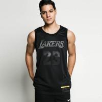 NIKE Men Basketball NBA Lebron James Los Angeles Lakers Jersey Basket