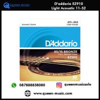 senar daddario ez910 light akustik 11-52