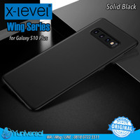 X-LEVEL Galaxy S10 Plus Wing Series Ultra-thin 0.4mm Matte PP Case