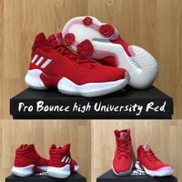 Sepatu Basket Pro Bounce 18 Red White Merah Putih