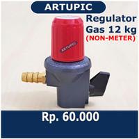 Regulator Gas NON-METER Lpg Elpiji Propane 3 Kg 12kg Winn Gas W181NM