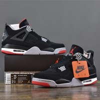 AIR JORDAN 4 BRED (Unauthorized Authentic)