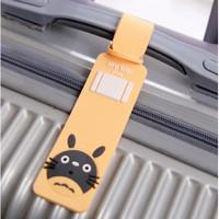 Luggage Tag Penanda Tas Koper My Trip Aneka Warna Bahan Karet
