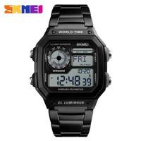 Jam Tangan SKMEI 1382 - Jam Tangan Smartwatch Compass Pedometer